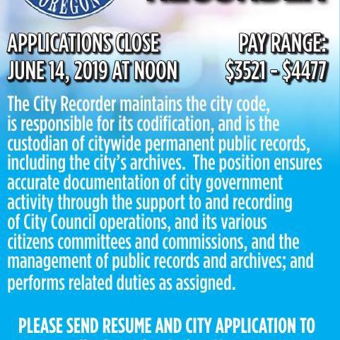 City Recorder
