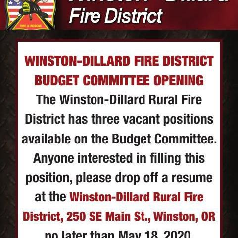 WINSTON-DILLARD FIRE DISTRICT