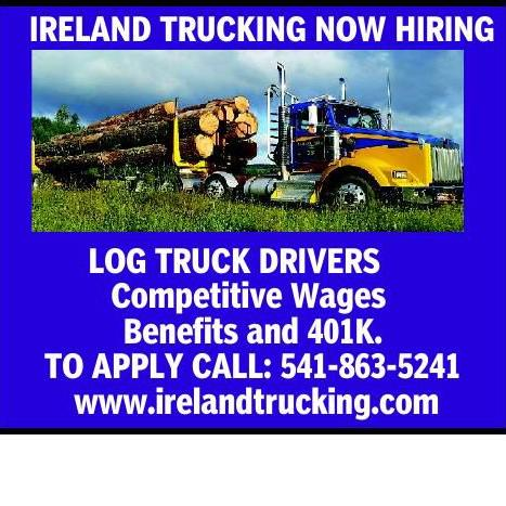 IRELAND TRUCKING NOW HIRING