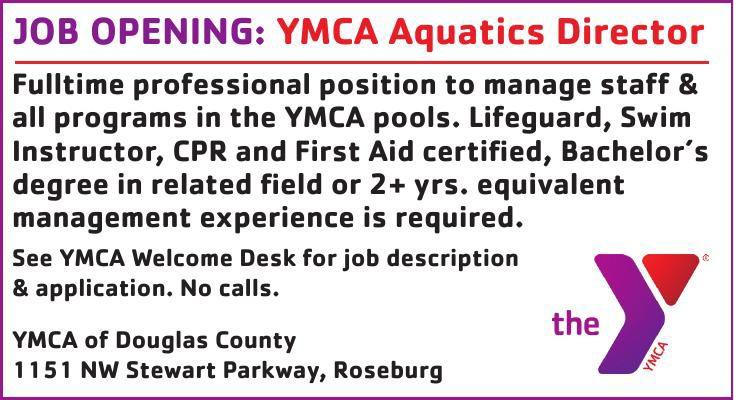JOB OPENING: YMCA Aquatics Director