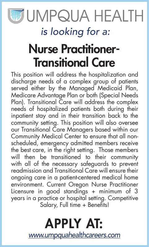 Nurse PractitionerTransitional Care