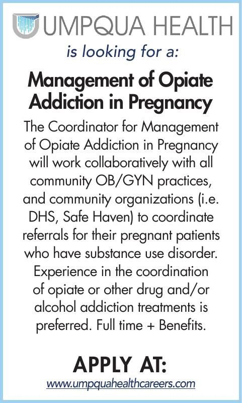 Management of Opiate Addiction in Pregnancy
