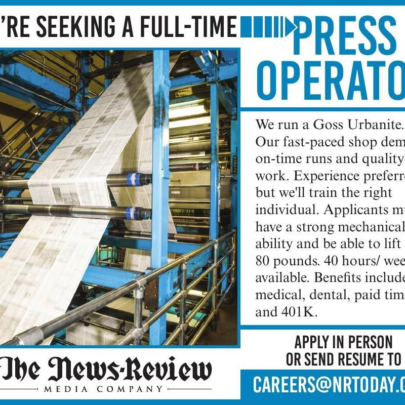 News Review Press Operator