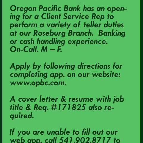 Oregon Pacific Bank