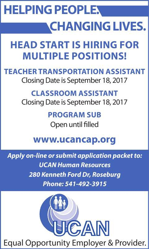 Multiple Positions at UCAN