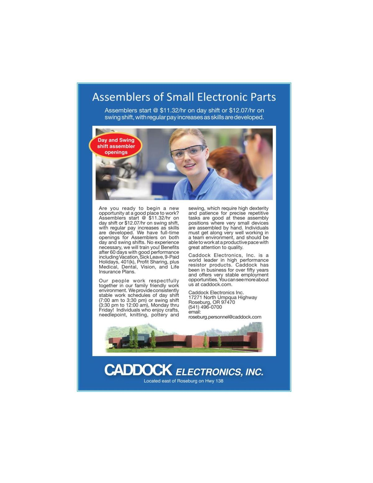 Assemblers of Small Electronic Parts