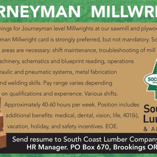 how to become a journeyman millwright
