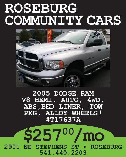 Roseburg Community Cars
