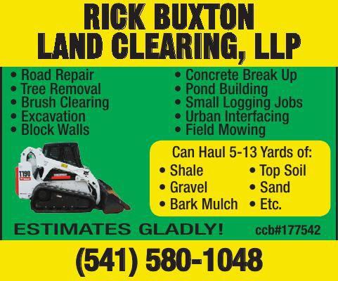 Rick Buxton Land Clearing