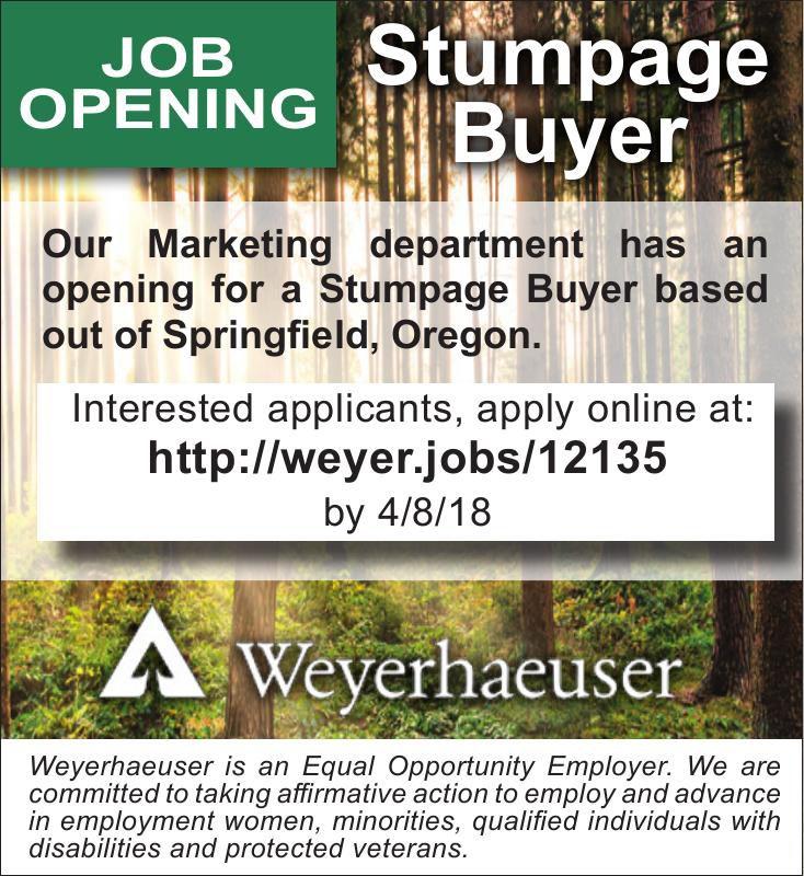Stumpage Buyer