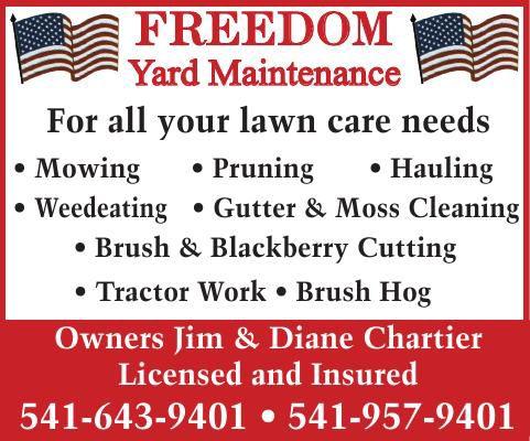 Freedom Yard Maintenance