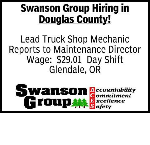 Swanson Group Hiring