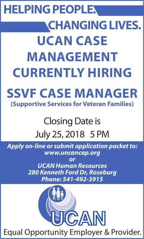 SSVF CASE MANAGER
