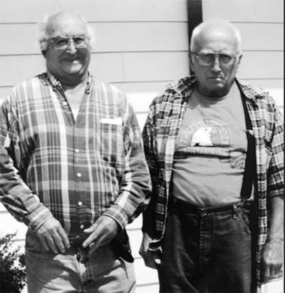 Harold and Everett (Earl) Rathbun