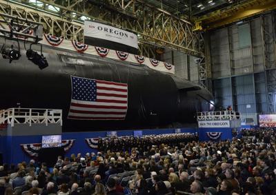 Submarine Christening