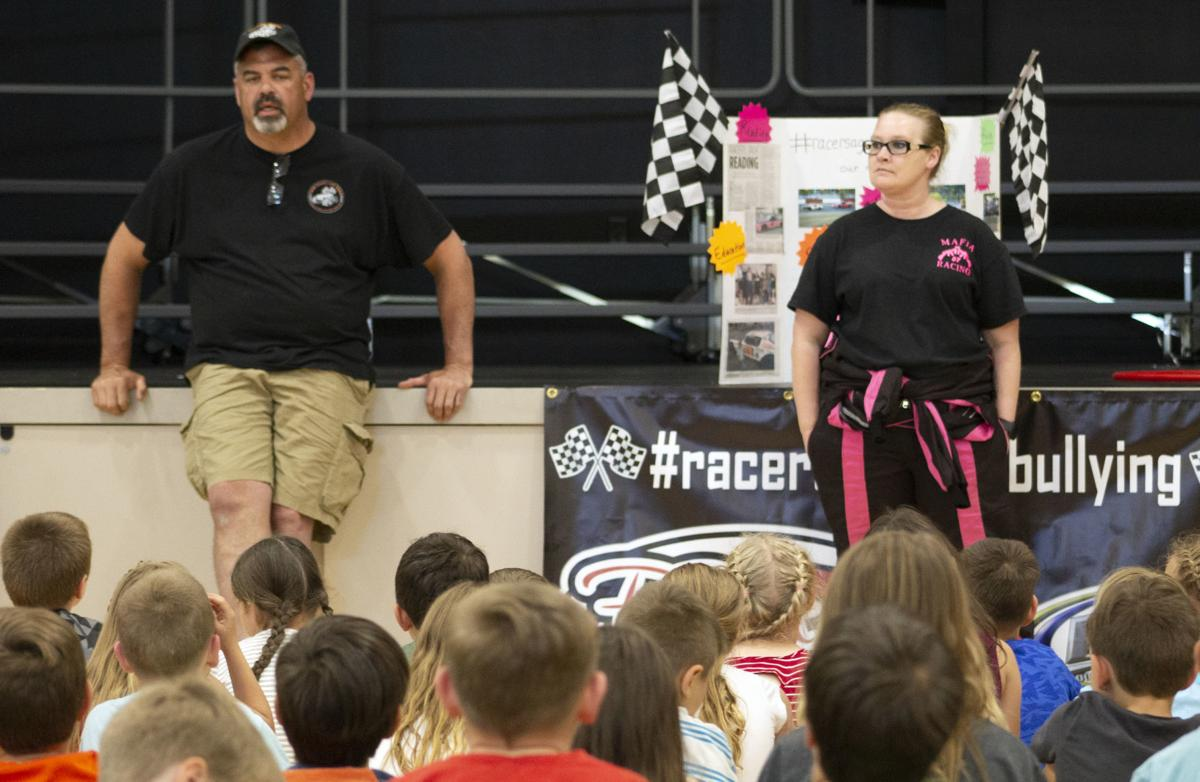 Racers against bullying
