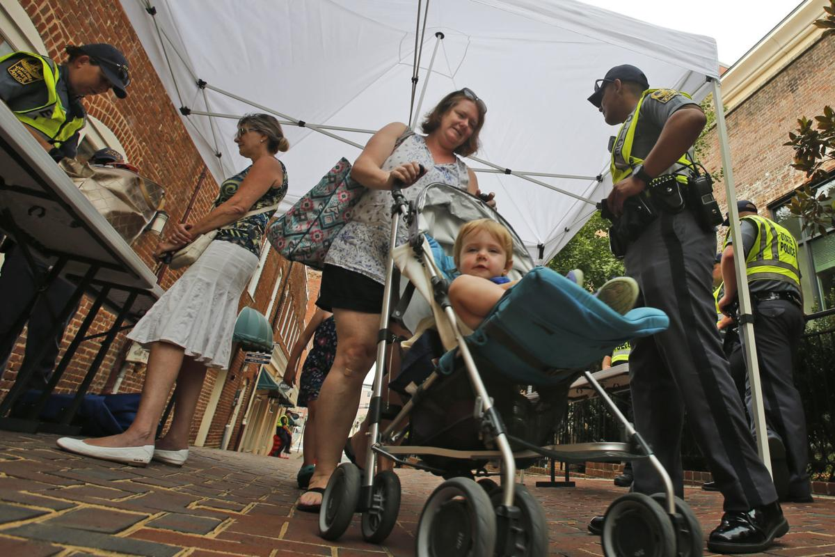 Charlottesville One Year Later Rally