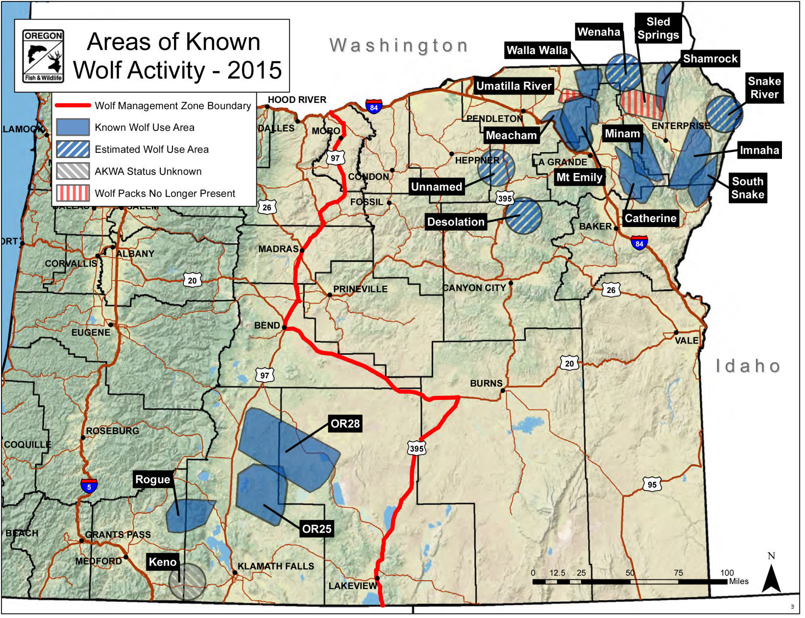 Wolves quietly coming into Western Oregon News nrtodaycom