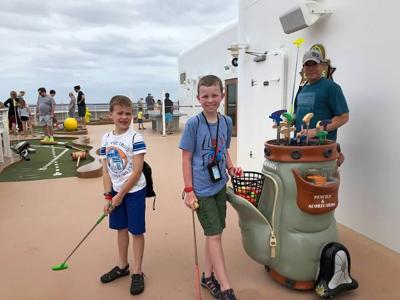 Plenty of kids activities are provided on cruise lines