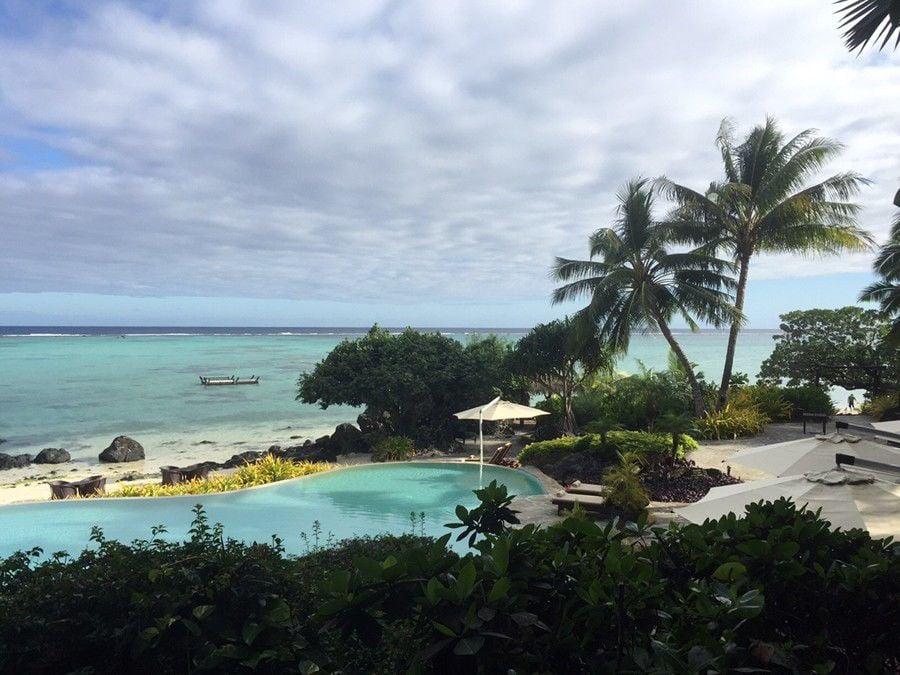 Resort hotel in the Cook Islands popular for destination weddings