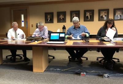 Members of the Umpqua Valley Development Corporation board
