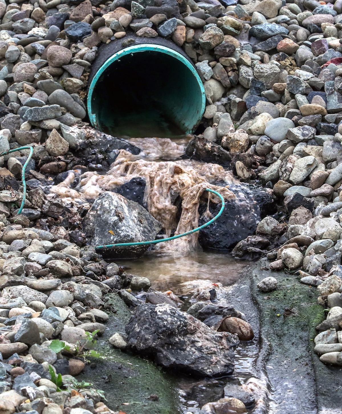 Hampton Inn sewage