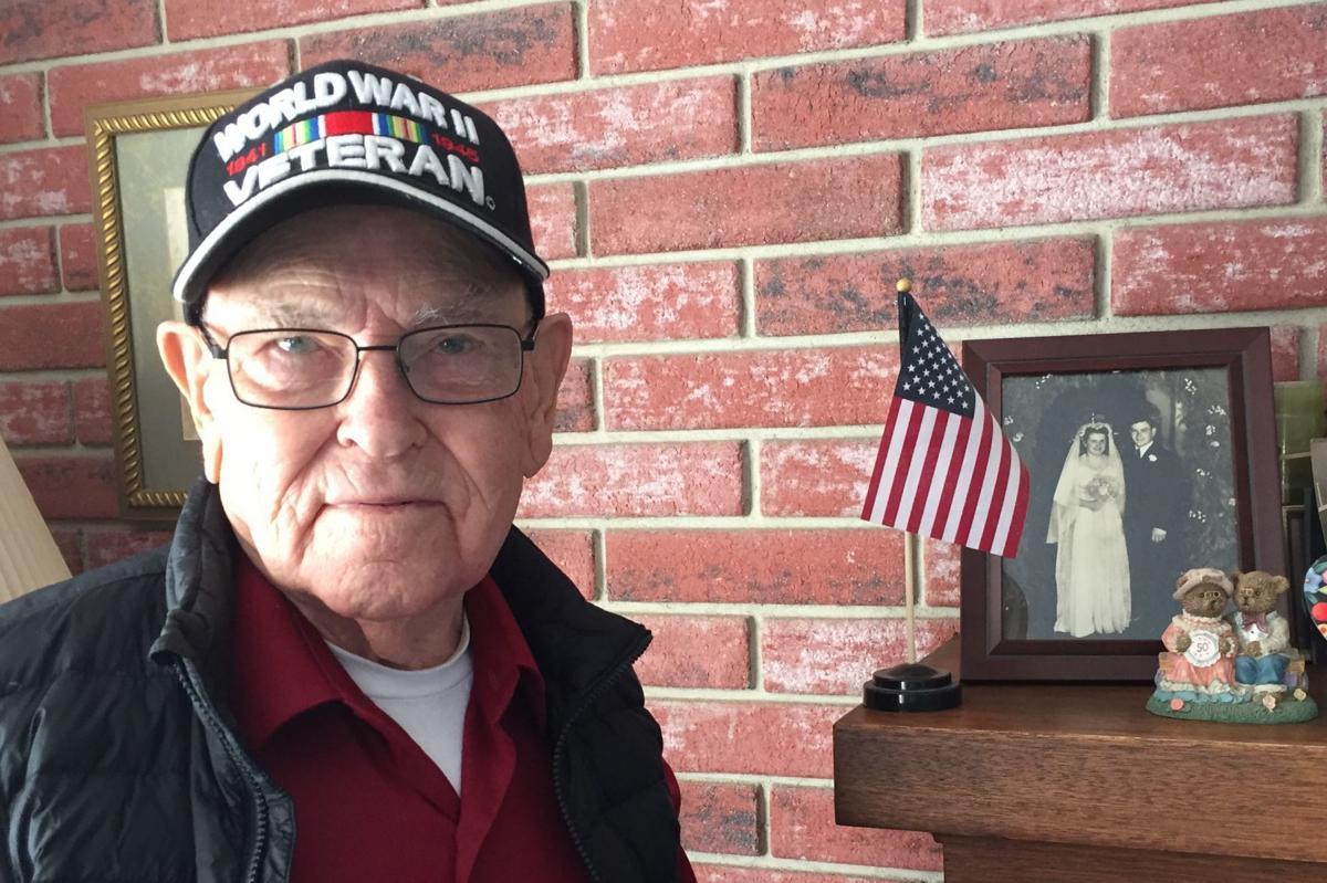 WW-II Navy veteran Paul Betcher