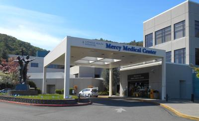 Mercy Medical Center south entrance (copy)