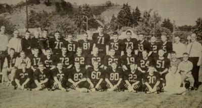 RHS football, 1961