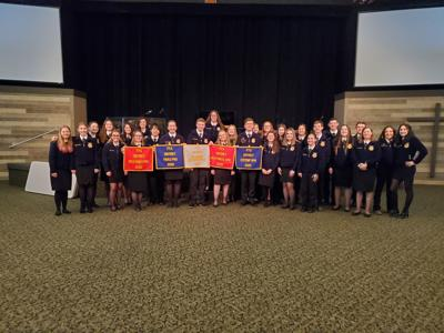 Sutherlin FFA speaking