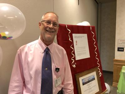 Dr. Randy Moore, oncologist at the Community Cancer Center in Roseburg