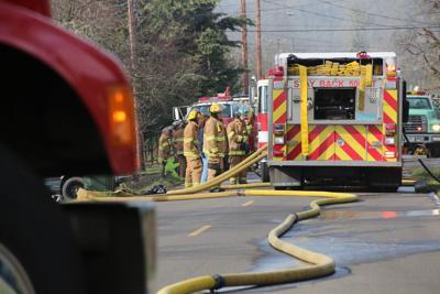 Oakland house fire