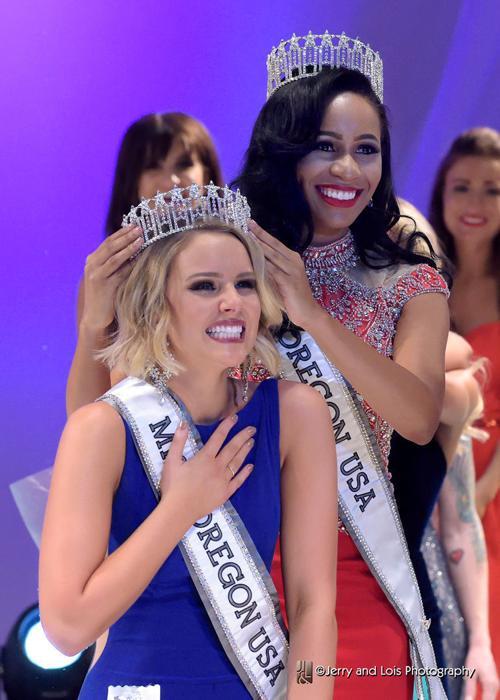 Elizabeth Denny crowned 2017 Miss Oregon USA