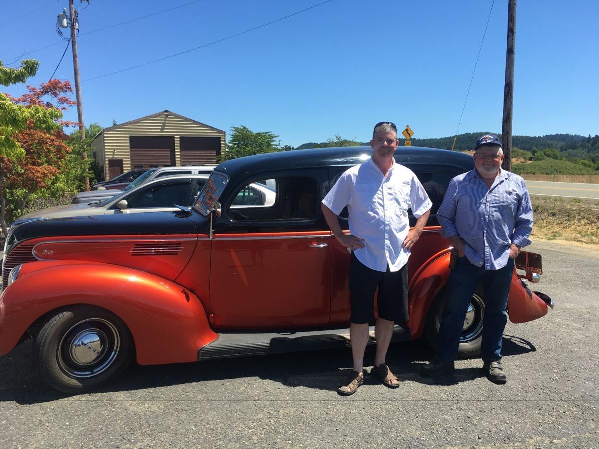 Walt Dickover car 4