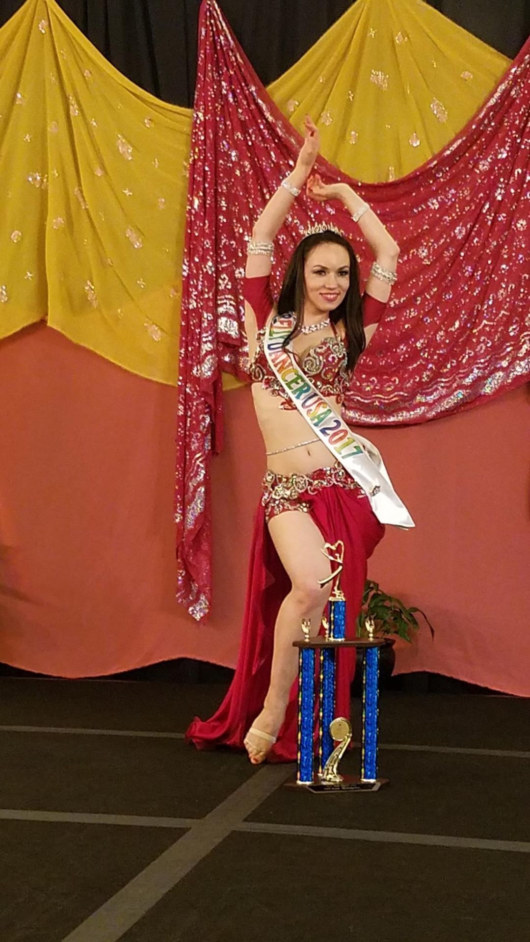 Zhanna wins title of Belly Dancer USA 2017