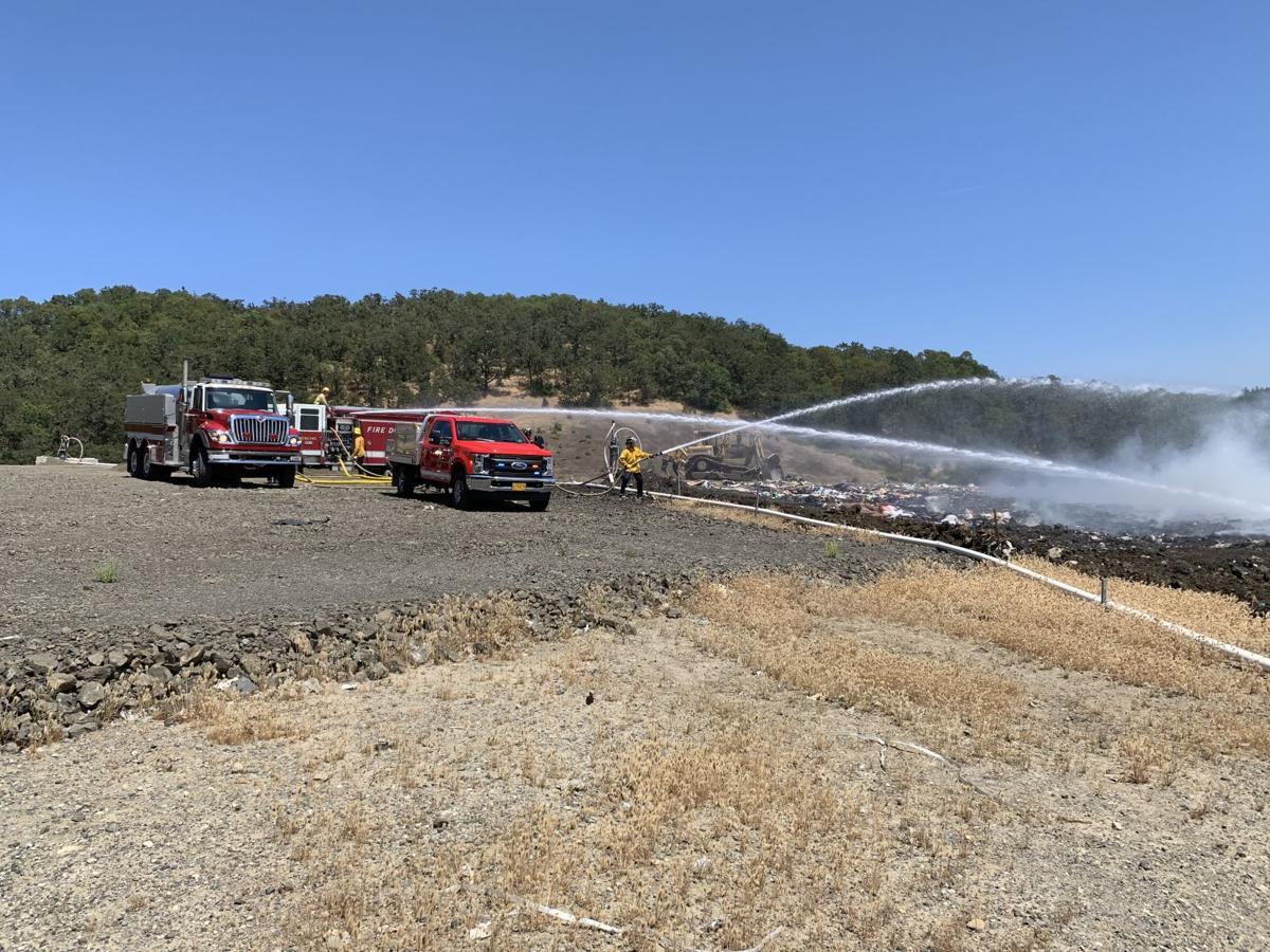 Landfill fire 2