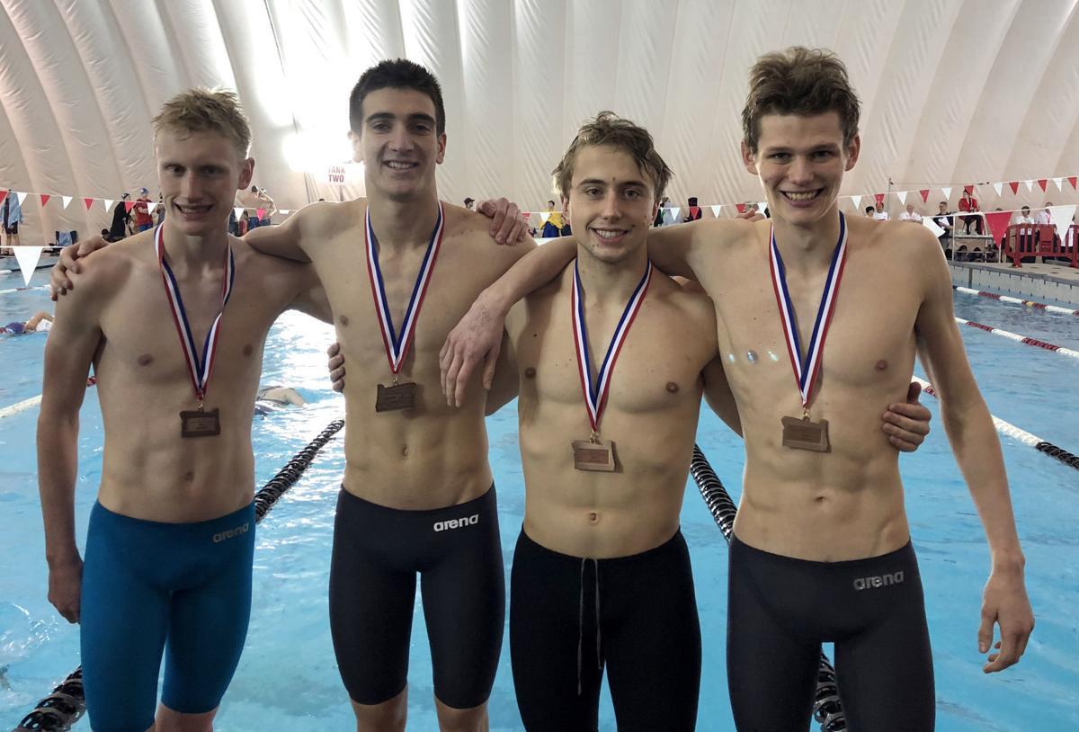 Prep swimming roseburg boys finish third in 200 relay gosman breaks two school records at for Mt hood community college pool open swim