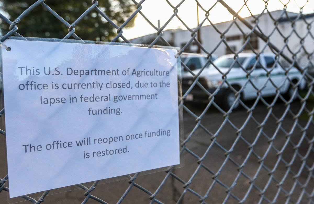 Cow Creek Tribe and local agencies affected by government