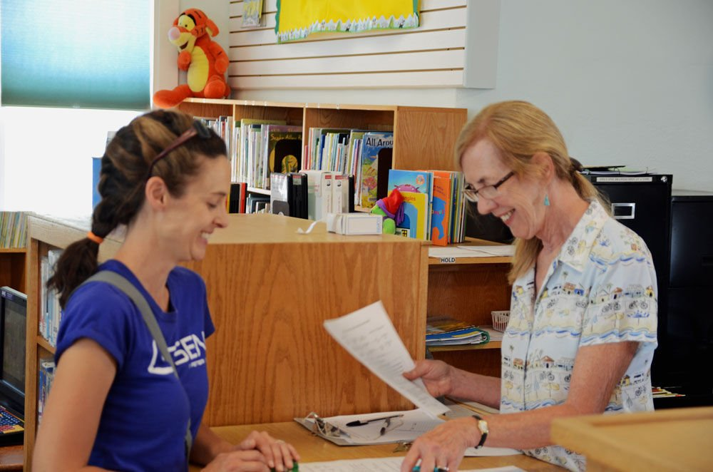 Glendale Library reopens 1