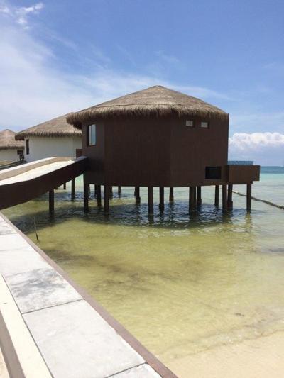El Dorado Maroma overwater bungalow in Riviera Maya, Mexico
