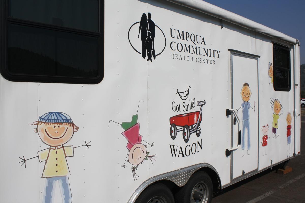Umpqua Community Health Clinic's mobile unit