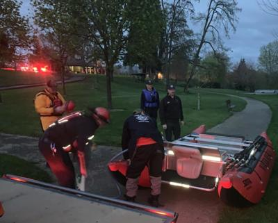 Firefighters pull woman from river near Stewart Park