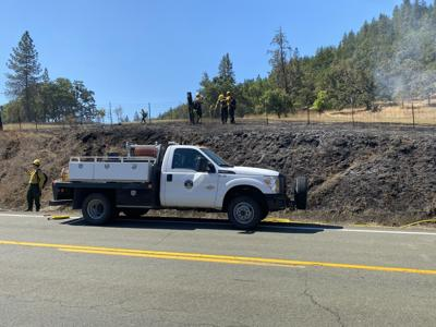 The Lookingglass Road Fire