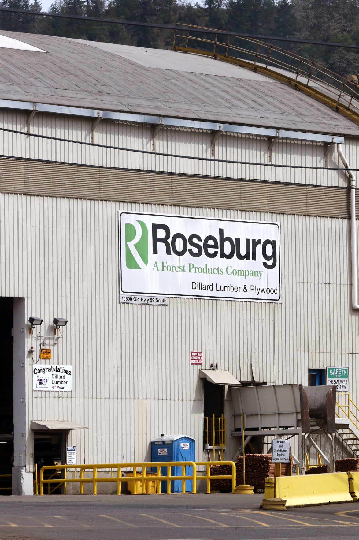 Roseburg Forest Products denies blame in illegal timber practices