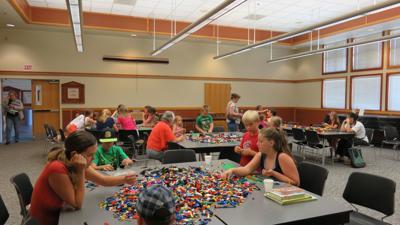 Legos at library