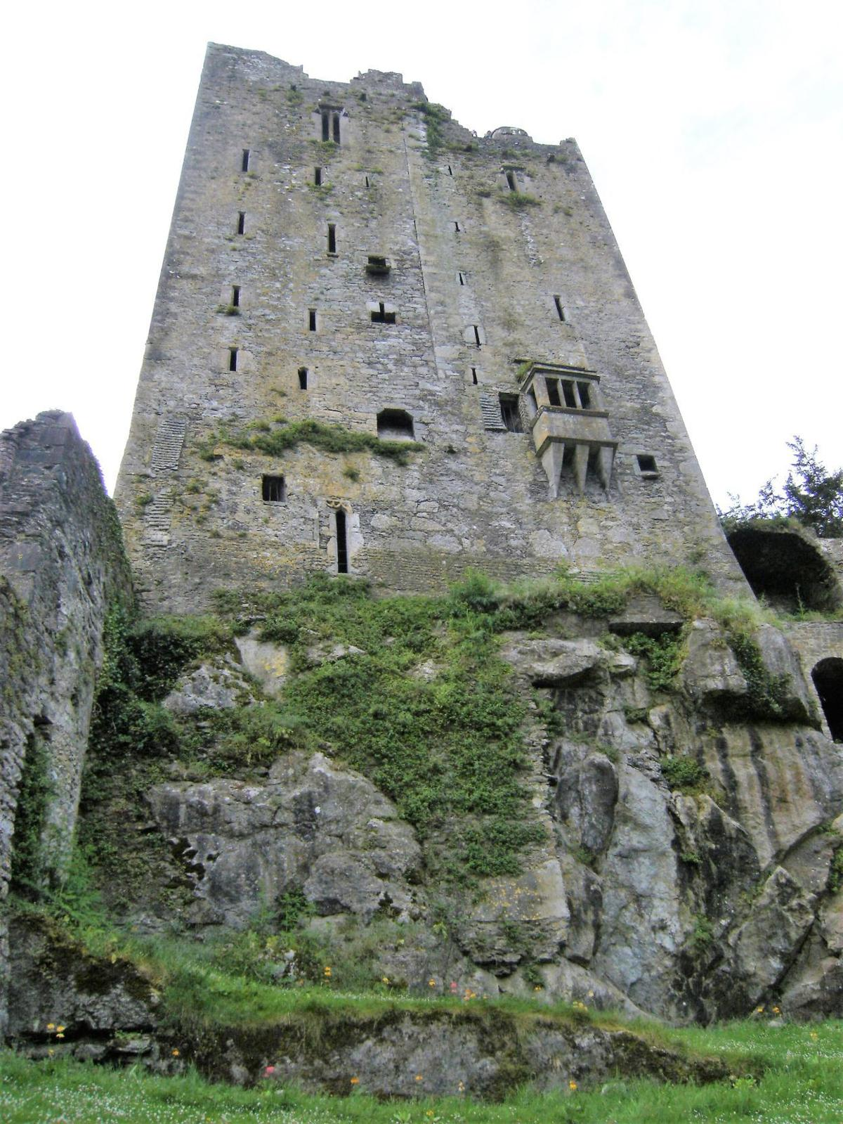 The Blarney Castle in Northern Ireland