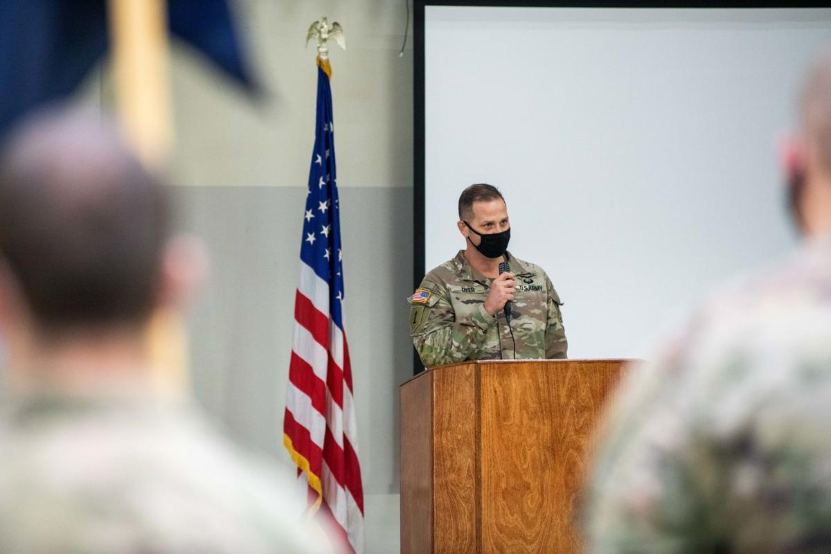 Oregon Army National Guard's 1-186 Infantry Battalion conducts demobilization ceremony