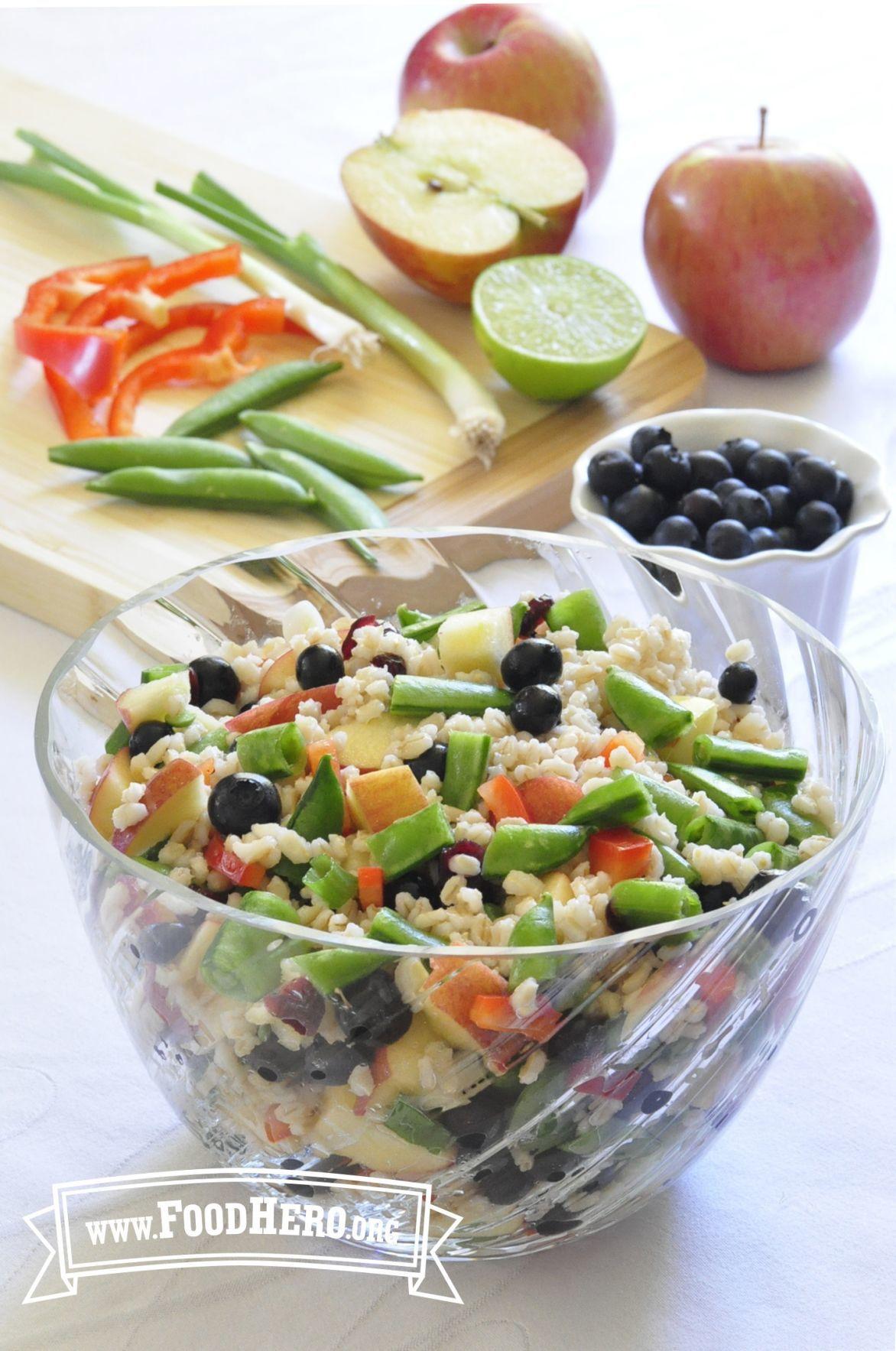 Barley Summer Salad
