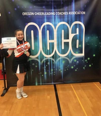 Bryanna Witcher, cheerleader