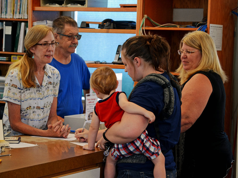 Glendale Library reopens 2